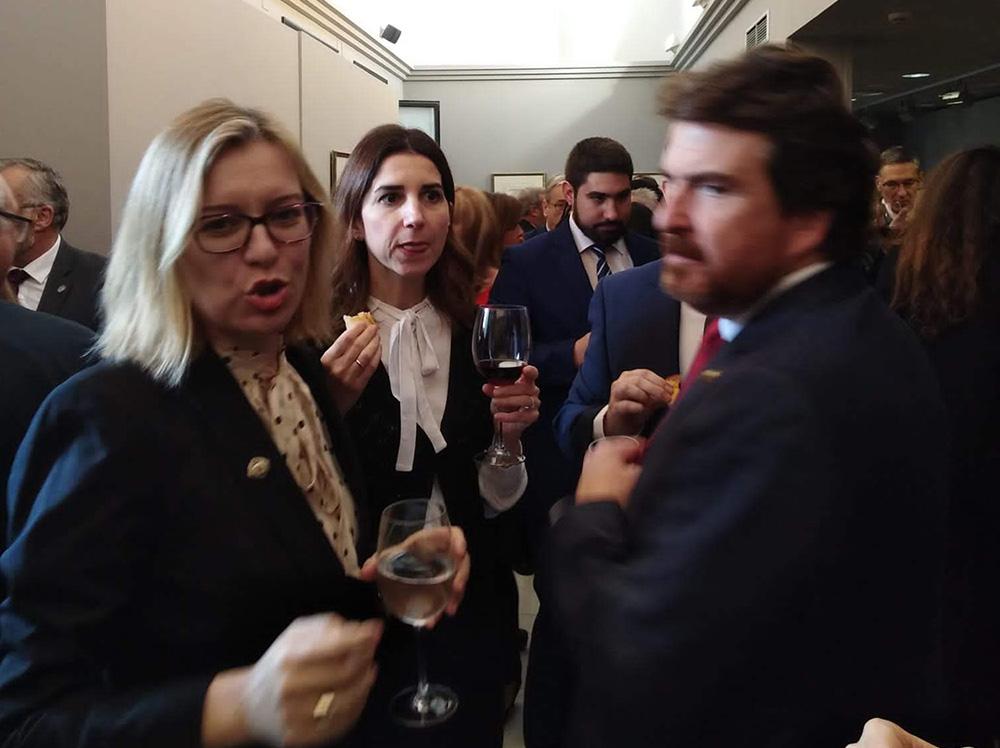 Vino español en el Real e Ilustre Colegio de Abogados de Zaragoza (REICAZ)