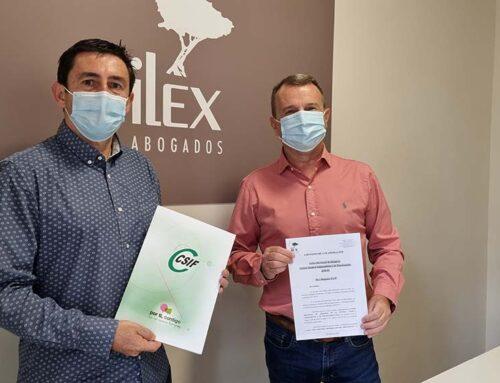 Acuerdo entre CSIF e Ilex Abogados para Asesoramiento Jurídico Gratuito para Afiliados y Familiares